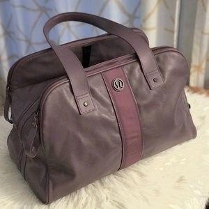 Dark Lavender Lululemon Duffle Bag